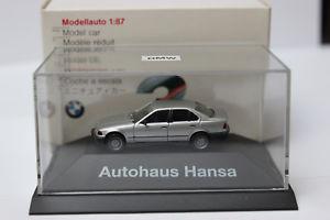 【送料無料】模型車 モデルカー スポーツカー モデルハンザbmw 325i 187 von herpa sondermodell hansa silber