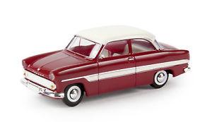 【送料無料】模型車 モデルカー スポーツカー フォードルビーレッドホワイトbrekina h0 19316 pkw ford 12m, rubinrot wei, td ovp neu