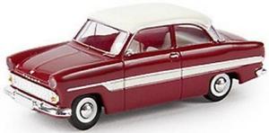 【送料無料】模型車 モデルカー スポーツカー brekina pkw ford 12m, rubinrotwei 19316