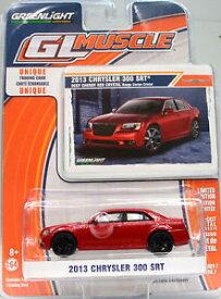 【送料無料】模型車 モデルカー スポーツカー クライスラーレッドスケールchrysler 300 srt rot baujahr 2013 mastab 164 von greenlight