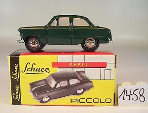 【送料無料】模型車 モデルカー スポーツカー ピッコロフォード#schuco piccolo 190 ford 12m grn ovp 1458