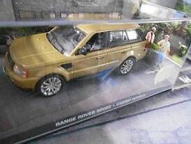 【送料無料】模型車 モデルカー スポーツカー range rover sport suv casino royale james bond 007 ixo altaya sonderpreis 143