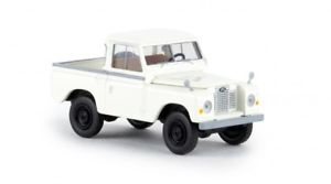 【送料無料】模型車 モデルカー スポーツカー ランドローバーホワイト187 brekina land rover 88 hardtop wei 13854