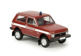 【送料無料】模型車 モデルカー スポーツカー ラダヘッセン187 brekina lada niva ffw langenhessen 27234