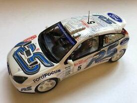【送料無料】模型車 モデルカー スポーツカー フォードフォーカスモンテカルロラリープラスチックford focus rs rallye monte carlo 2003 duval fortin 124 plastic modelcar built
