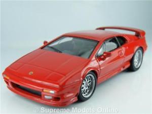 【送料無料】模型車 モデルカー スポーツカー ロータスエスプリモデルカースケールレッドカラースキームlotus esprit v8 model car 143rd scale red colour scheme example pkd t3412z