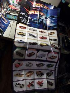 【送料無料】模型車 モデルカー スポーツカー ホットホイールポスターレースlot of 5 hot wheels large posters 2009 ,32007 amp; race world and 2 displays