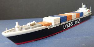 【送料無料】模型車 モデルカー スポーツカー hansa metall modell 11250 containerschiff margaret lykes lykes lines