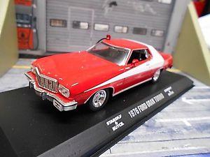 【送料無料】模型車 モデルカー スポーツカー フォードグラントリノスタスキーハッチムービーグリーンライトford gran torino 1976 starsky amp; hutch v8 muscle car v8 sp movie greenlight 143