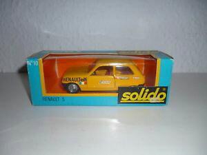【送料無料】模型車 モデルカー スポーツカー モデルカールノー##solido modellauto n 10 gam 1 renault 5 alt 143 72
