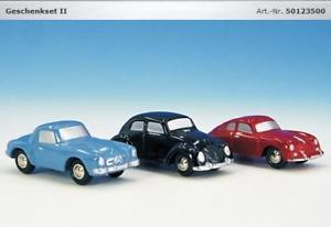 【送料無料】模型車 モデルカー スポーツカー ピッコロセットschuco piccolo geschenk set ii ag 01235