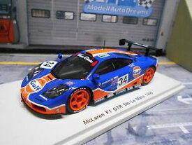 【送料無料】模型車 モデルカー スポーツカー マクラーレンルマン#ブラバムジョーンズスパークmclaren f1 gtr bmw le mans 1996 34 gulf brabham jones raphanel spark 143