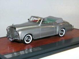 【送料無料】模型車 モデルカー スポーツカー マトリックススケールモデルロールスロイスシルバークラウドシルバーmatrix scale models, 1963 rolls royce silver cloud dhc, mulliner, silber, 143