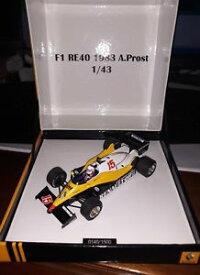 【送料無料】模型車 モデルカー スポーツカー スパークルノー#アランプロストプロモーションspark 143 renault re40 15 1983 alain prost promotional