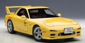 【送料無料】模型車 モデルカー スポーツカー マツダアニメーションautoart mazda fini rx7 fd3s 1991 animations film initial d 118 75966