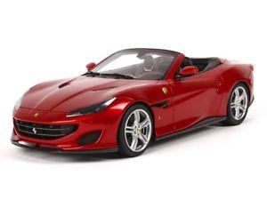 【送料無料】模型車 モデルカー スポーツカー フェラーリロッソポルトフィーノポルトフィーノbbr ferrari portofino rosso portofino 118 p18155a