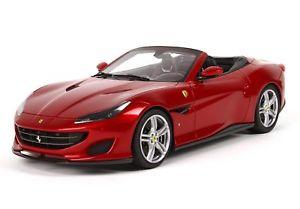 【送料無料】模型車 モデルカー スポーツカー フェラーリロッソポルトフィーノポルトフィーノクモferrari portofino spider version rosso portofino bbr 118 p18155a