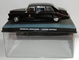 【送料無料】模型車 モデルカー スポーツカー ジェームズボンドカジノロワイヤルホテルダイムラーリムジンfabbri uh james bond 007 daimler limousine casino royale hotel splendide 143