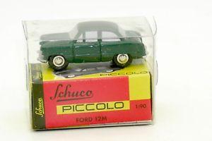 【送料無料】模型車 モデルカー スポーツカー ピッコロフォード#schuco piccolo ford 12m 01501 avec sa boite