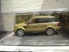 【送料無料】模型車 モデルカー スポーツカー レンジローバースポーツジェームスボンドカジノロワイヤル143 range rover sport james bond casino royale
