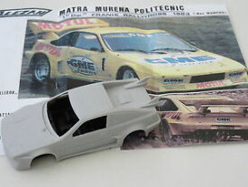 【送料無料】模型車 モデルカー スポーツカー モデルモチュールalezan models 143 matra murena motul rallycross 1983