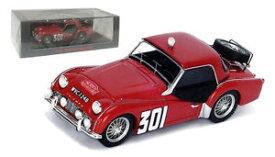 【送料無料】模型車 モデルカー スポーツカー スパークモンテカルロスケールspark s1408 triumph tr3 a 301 monte carlo 1960 j j thuner 143 scale