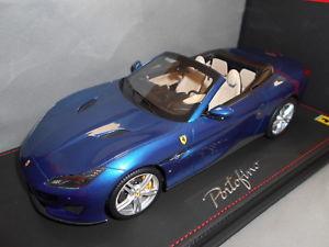【送料無料】模型車 モデルカー スポーツカー フェラーリポルトフィーノbbrp18155d by bbr ferrari portofino 2017 senza vetrina 118