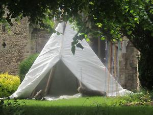 【送料無料】キャンプ用品 ウィグワムテントミントメートル white magic wigwam permanent insulated tent mint condition 4 metre giant