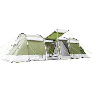 【送料無料】キャンプ用品 skandikaモンタナ8トンネルテントskandika montana protect 8 person man family group tunnel tent sewnin floor