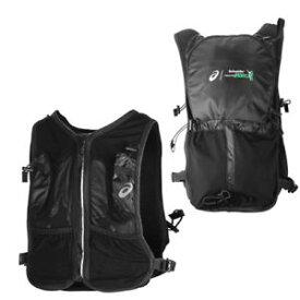 【送料無料】キャンプ用品 アシックスフランスマラソンジップアップハイドレーションベストバックパック