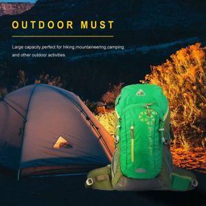 【送料無料】キャンプ用品 ハイキングバックパックlyバックパック40ポンドユニバーサル