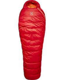 【送料無料】キャンプ用品 haglofs ursus 9 175cmジップ bnwthaglofs ursus 9 down sleeping bag rich red 175cm left zip bnwt