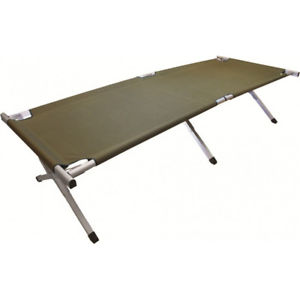 【送料無料】キャンプ用品 ベッドスコットランドmensアルミニウムhighlander mens strong sturdy lightweight aluminium camping bed