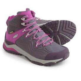 【送料無料】キャンプ用品 wp womensブーツaphlexプラムサメkeen aphlex mid wp womens boots walking boot plum shark,brand , boxed,