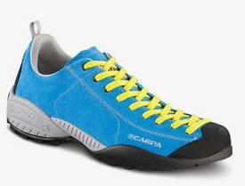 【送料無料】キャンプ用品 scarpa mojito bicolorn45shoes scarpa mojito bicolor man colour vivid blue yellow n45