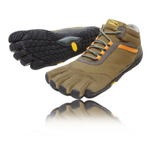 【送料無料】キャンプ用品 アセントメンズブラウンウォーキングハイキングvibram fivefingers trek ascent insulated mens brown walking hiking road shoes