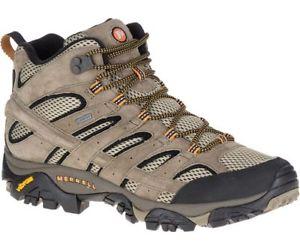 【送料無料】キャンプ用品 モアブミッドウォーキングシューズピーカンmerrell mens moab 2 mid walking shoe pecan goretex