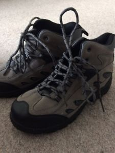 【送料無料】キャンプ用品 ブランドレディースコットントレーダーグレーウォーキングブーツbrand ladies cotton trader grey walking boots uk4