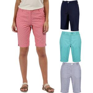 【送料無料】キャンプ用品 レガッタレディースレディースコットンショートウォーキングregatta womensladies sophilla shortii coolweave cotton walking shorts