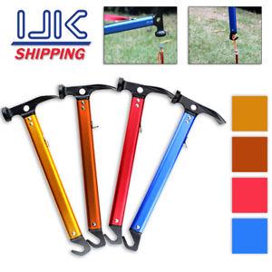 【送料無料】キャンプ用品 ツールマレットハマーテントシャベルcamping mallet hammer tent pegs stake nail puller remover tools hook shovel uk