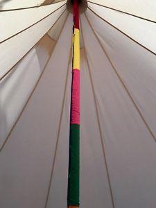 【送料無料】キャンプ用品 テントカバーテントテントbell tent decorative rainbow pole cover, bell tent furnishing,tent accessory
