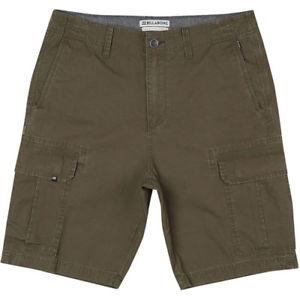 【送料無料】キャンプ用品 スキームカーゴメンズショートウォークダークオリーブサイズbillabong scheme cargo mens shorts walk dark olive all sizes