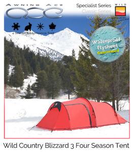 【送料無料】キャンプ用品 34テントwild country blizzard 3 specialist 4 season extreme adventure travel tent