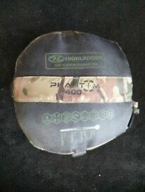【送料無料】キャンプ用品 4ミイラcamohighlander 4 season cold weather sleeping bag mummy camo army military winter