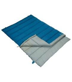 【送料無料】キャンプ用品 vangoスクエア vango harmony double sleeping bag square sky blue