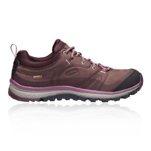 【送料無料】キャンプ用品 ブラウンパープルスポーツウォーキングkeen womens terradora leather waterproof walking shoes brown purple sports