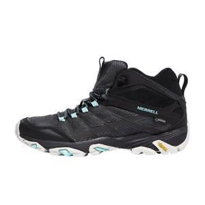 【送料無料】キャンプ用品 モアブウォーキングブーツ merrell moab fst mid gtx women's walking boots