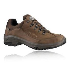 【送料無料】キャンプ用品 メンズブラウンゴアテックスウォーキングハイキングシューズscarpa cyrus mens brown water resistant gore tex walking hiking shoes