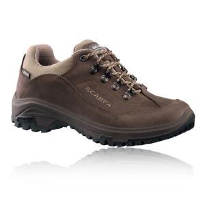 【送料無料】キャンプ用品 レディースブラウンゴアテックスウォーキングハイキングシューズscarpa cyrus womens brown water resistant gore tex walking hiking shoes