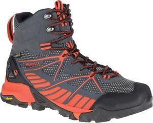 【送料無料】キャンプ用品 ウォーキングベンチャーサラウンドメンズトレッキングハイキングブーツmerrell capra venture goretex surround mens trekking hiking boots walking shoes
